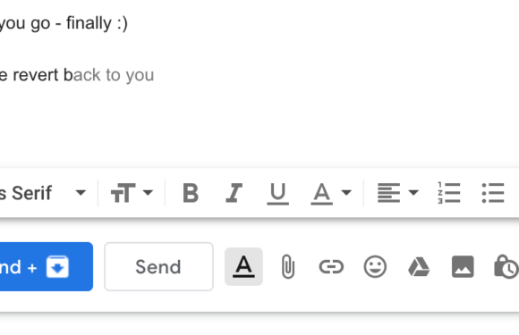 Gmail's autocomplete legitimizing the Indian-English 'revert back' and a parallel to fake news