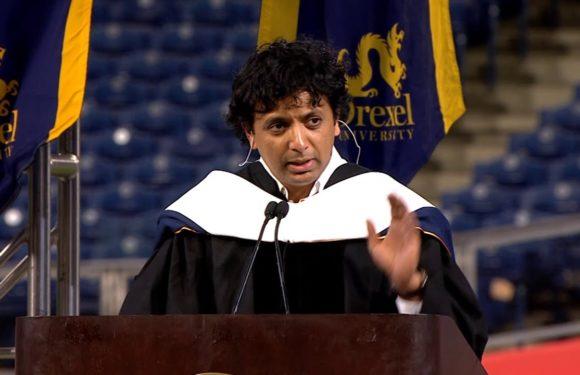 Manoj Night Shyamalan's commencement speech at Drexel University has incredible life lessons!