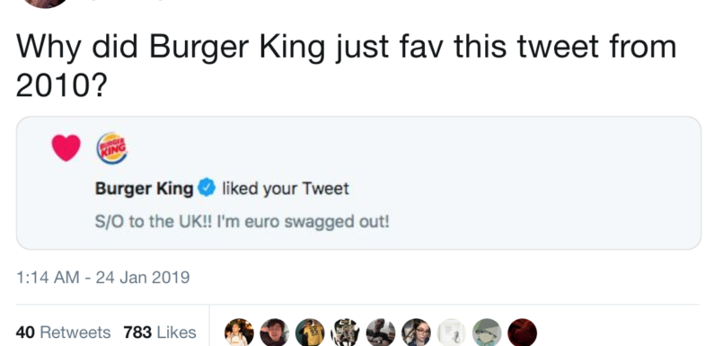 Burger King's brilliant idea on Twitter – just 'Like' that!
