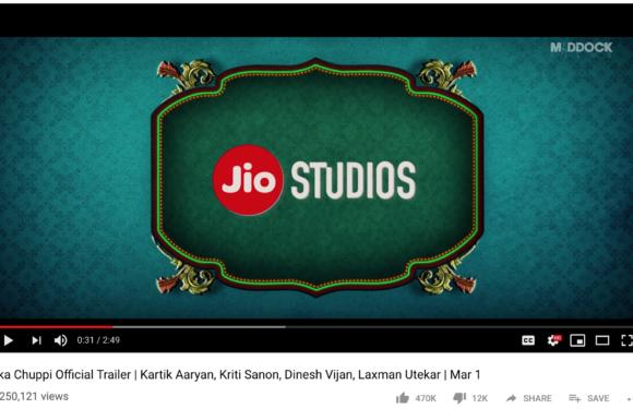 "Jio Studios' trailer has, ""Mera data khatam ho gaya"". Did they think through this?"