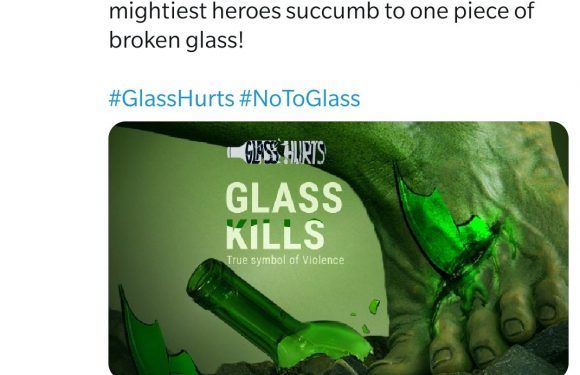 On a scale of 1 to 10, how much do you hate glass?