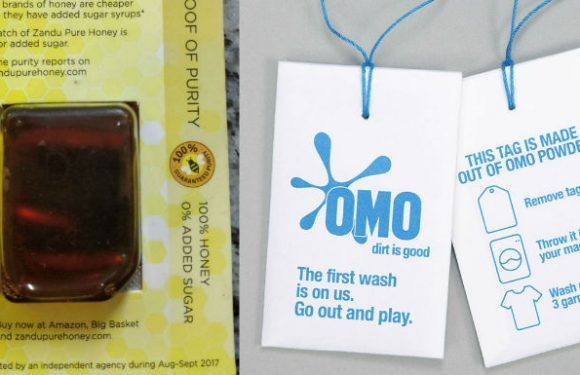 Sampling innovation – Zandu Pure Honey and Omo detergent