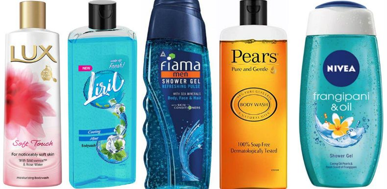 Soaps vs Shower Gels in India