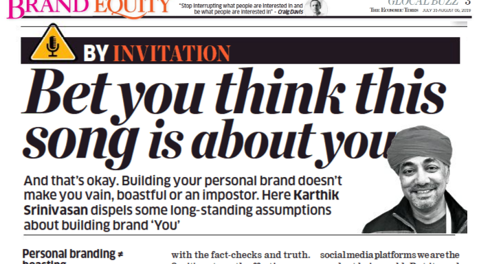 5 compelling reasons why you should take your personal branding seriously