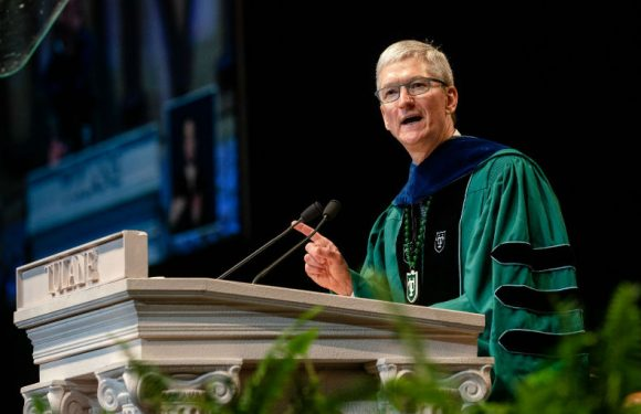 Tim Cook's Tulane and Stanford speeches, and the focus on privacy