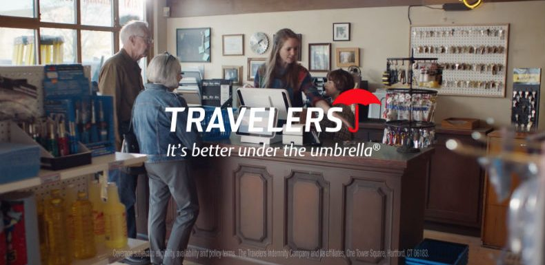Travelers' new campaign