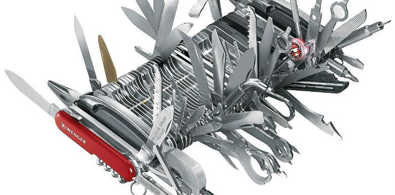 The Smartphone Swiss Army Knife