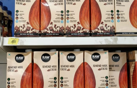 RAW Pressery's full almonds