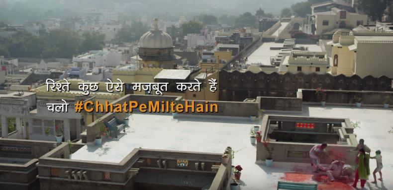 Ambuja Cement's 'Chhat Pe Milte Hain'
