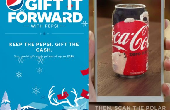 Pepsi and Coca-Cola go mobile, this festive season