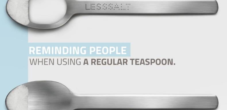 A spoon with a hole!