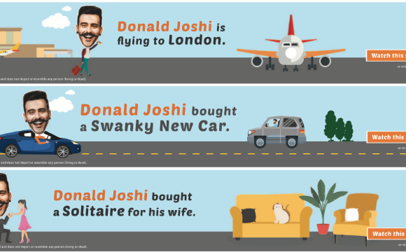 Who is Donald Joshi and why does he have so much spare cash?