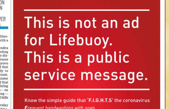 Lifebuoy's generosity