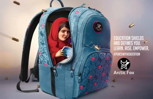 Malala Yousafzai's mattress and school bag