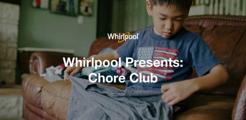 Whirlpool reframes Ariel's Share The Load with a timely twist