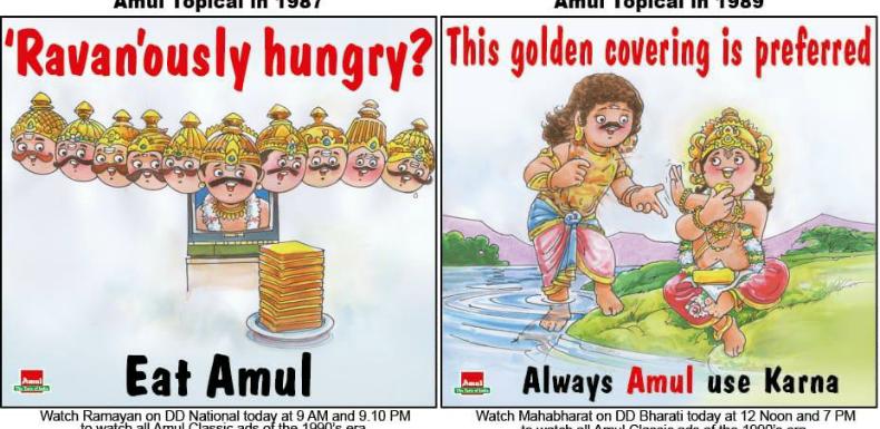 Amul's nostalgia masterstroke
