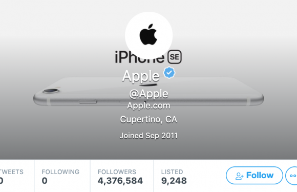 For Apple, Twitter is a giant billboard