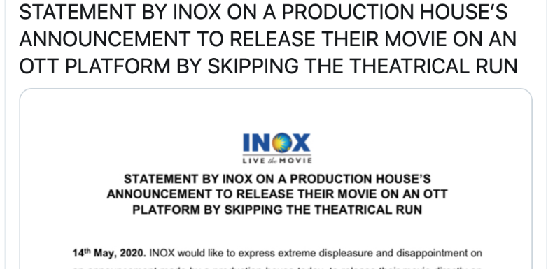 INOX's outburst and a lesson on framing in corporate communication