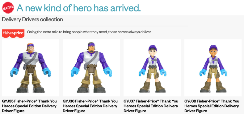We have a new set of heroes to celebrate
