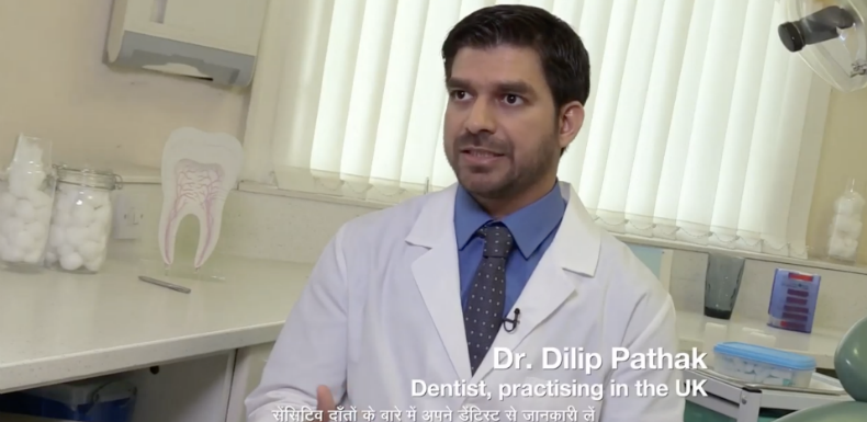 Why do Indian-origin dentists practicing in the UK sell toothpaste to Indians?
