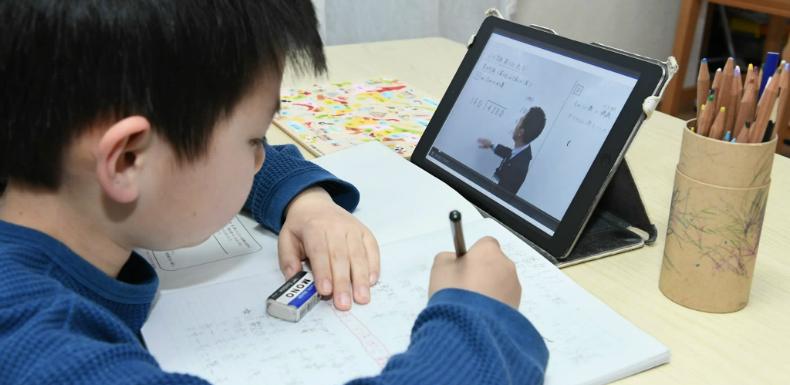 Online schools via video vs. exams/tests