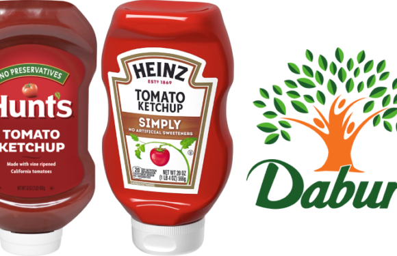 Squeezing ketchup