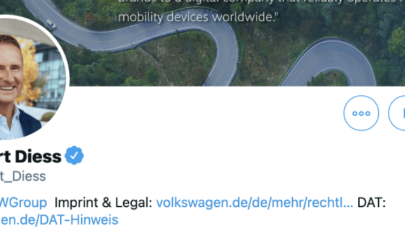 VW CEO's opening gambit on Twitter
