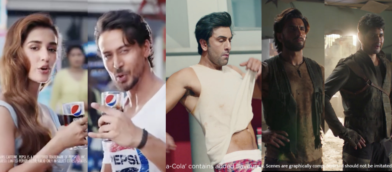 Pepsi, Coca-Cola, Thums Up, Patanjali