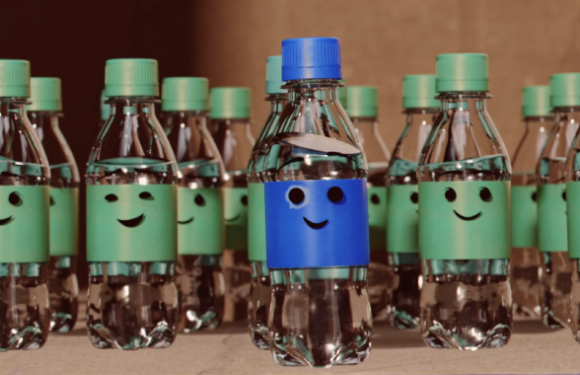 A creative spin on recycling