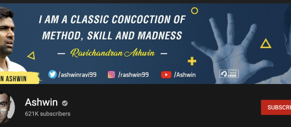 The personal re-branding of Ravichandran Ashwin