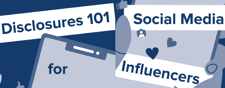 Influencers disclosing what influenced them
