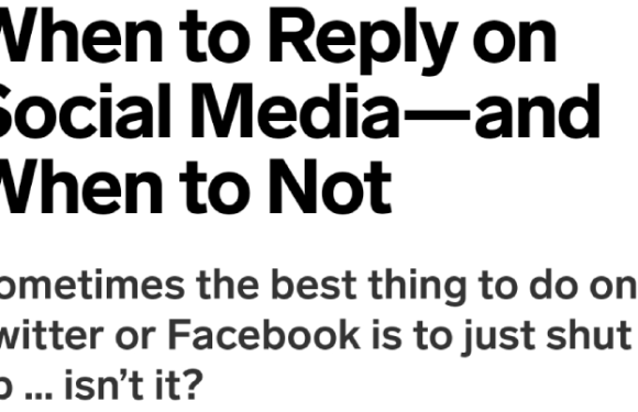 A reply vs. a quote-tweet/quote-post – should you react?
