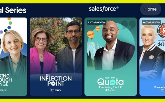 Salesforce's new streaming service